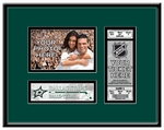Dallas Stars 4x6 Photo and Ticket Frame