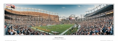 Denver Broncos 8 Yard Line - Invesco Field at Mile High Panoramic Photo
