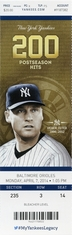Derek Jeter Day - Final Season - Yankees