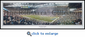 Detroit Lions Inaugural Game - Ford Field (2002) vs. Packers Panoramic Photo