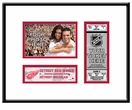Detroit Redwings 4x6 Photo and Ticket Frame