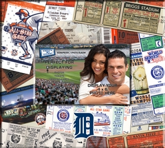 Detroit Tigers 8 x 8 Ticket & Photo Album Scrapbook