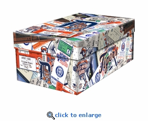 Detroit Tigers MLB Souvenir Gift Box / Photo Box