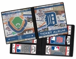 Detroit Tigers Ticket Album