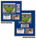 Dodger Stadium Ticket Frame - Dodgers