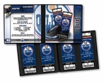 Edmonton Oilers Ticket Album
