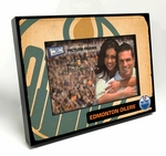 Edmonton Oilers Vintage Style Wooden 4x6 inch Picture Frame