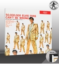 Elvis Presley 50,000,000 Elvis Fans Can't Be Wrong Canvas Album Cover
