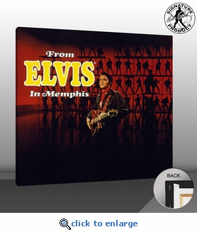 Elvis Presley From Elvis In Memphis Canvas Album Cover