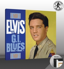 Elvis Presley G.I. Blues Soundtrack Canvas Album Cover