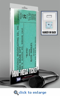 Elvis Presley Mini-Mega Ticket - Comeback Special, June 29, 1968