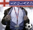 England FIFA World Cup Lanyard Key Chain with Ticket Holder