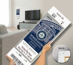 Felix Hernandez Perfect Game Mega Ticket - Seattle Mariners