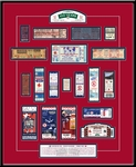 Fenway Park 100th Anniversary Tickets To History Framed Print - Boston Red Sox