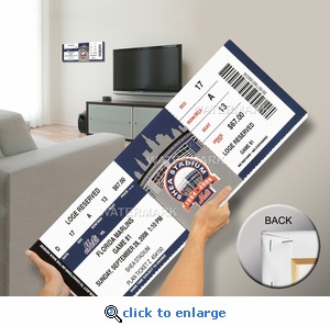 Final Game at Shea Stadium Mega Ticket - New York Mets
