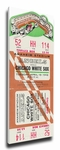 Anaheim Angels 1966 Opening Day / First Game at Anaheim Stadium Canvas Mega Ticket