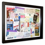 Floating Ticket Collage Frame