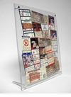 Floating Ticket Collage Stand