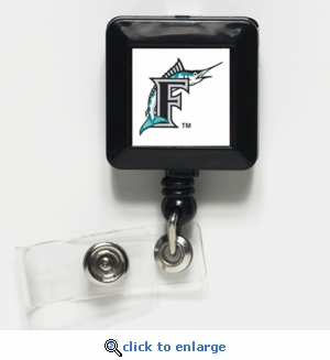 Florida Marlins Retractable Ticket Badge Holder