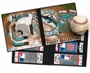 Florida Marlins Ticket Album