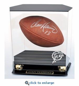 Football Floating Display Case