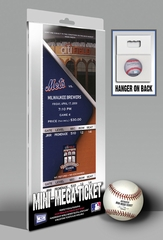 Gary Sheffield 500 Home Run Mini-Mega Ticket - New York Mets