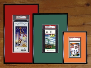 Graded Ticket Frames