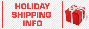 Holiday Shipping Info