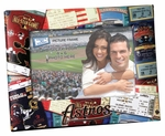 Houston Astros 4x6 Picture Frame - Ticket Collage Design