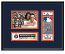 Houston Astros Personalized First Game Ticket Frame