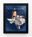 Houston Astros State of Mind Framed Print - Texas