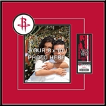 Houston Rockets 8x10 Photo Ticket Frame