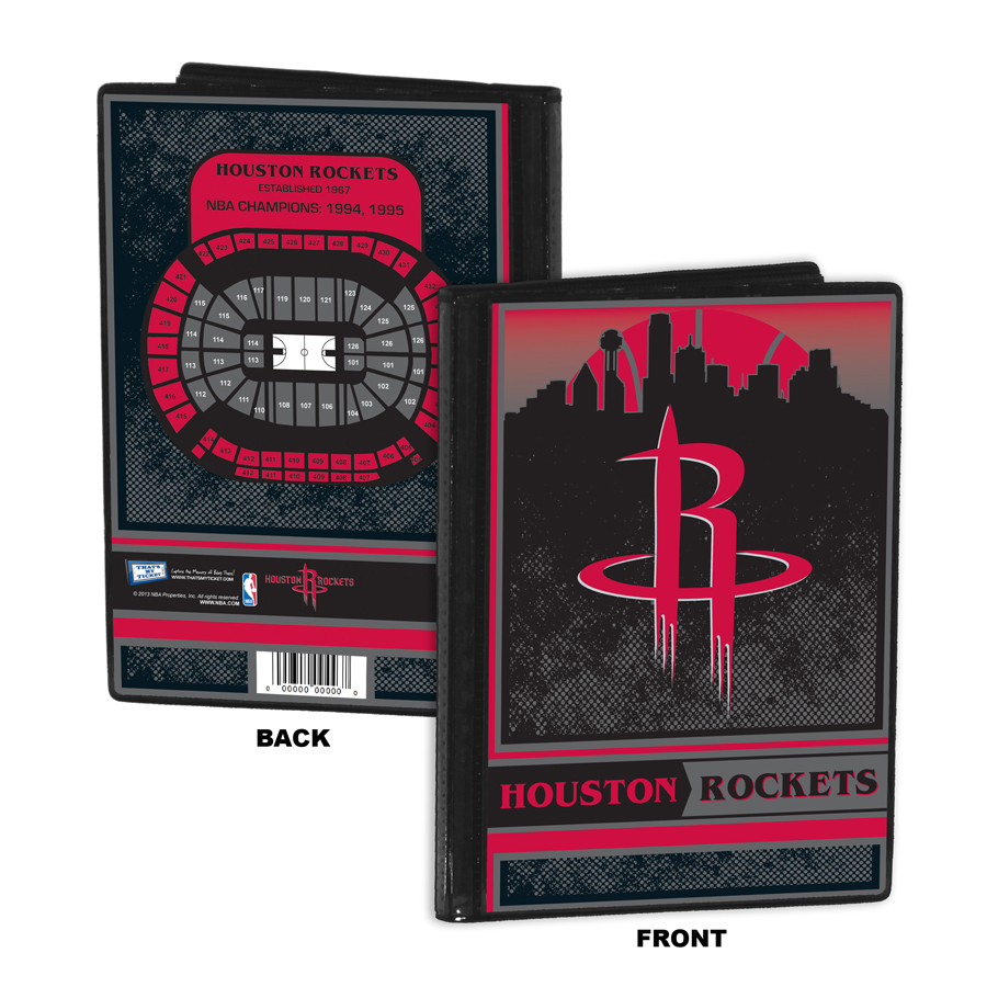 Houston Rockets Season Tickets: 2013 NBA All-Star Game Single Ticket Frame