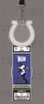 Indianapolis Colts Engraved Ticket Holder