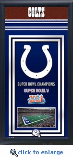 Indianapolis Colts Team Champions Frame
