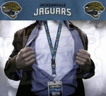 Jacksonville Jaguars NFL Lanyard Key Chain and Ticket Holder