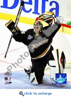 Jean-Sebastien Giguere Game 1 2007 Stanley Cup 8x10 Photo