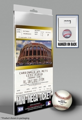 Johan Santana No Hitter Mini-Mega Ticket - New York Mets