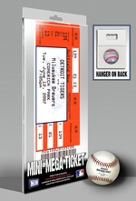 Justin Verlander No-Hitter Mini-Mega Ticket - Detroit Tigers
