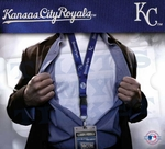 Kansas City Royals MLB Lanyard Key Chain and Ticket Holder