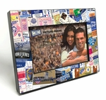 Kansas City Royals Ticket Collage Wooden 4x6 inch Picture Frame
