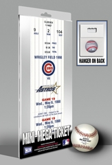 Kerry Wood 20K Game Mini-Mega Ticket - Chicago Cubs