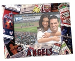 Los Angeles Angels 4x6 Picture Frame - Ticket Collage Design