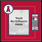 Los Angeles Angels 8x10 Photo and Ticket Frame