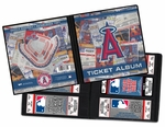 Los Angeles Angels of Anaheim MLB Ticket Album