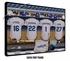 Los Angeles Dodgers Personalized Locker Room Print