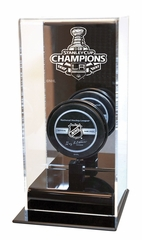 Los Angeles Kings 2012 Stanley Cup Champions High Rise Puck Display