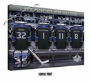 Los Angeles Kings Personalized Locker Room Print