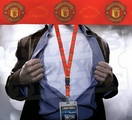 Manchester United Lanyard Key Chain with Ticket Holder