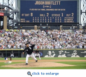 Mark Buehrle Perfect Game Final Pitch 8x10 Photo - White Sox